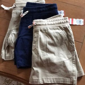NWT Cat and Jack girls shorts